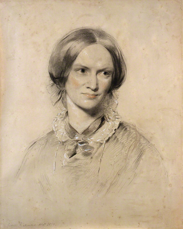 Charlotte Bronte portrait by George Richmond
