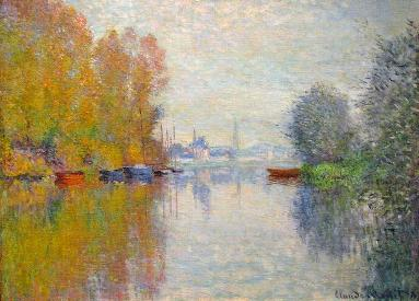 Monet - Autumn on the Seine